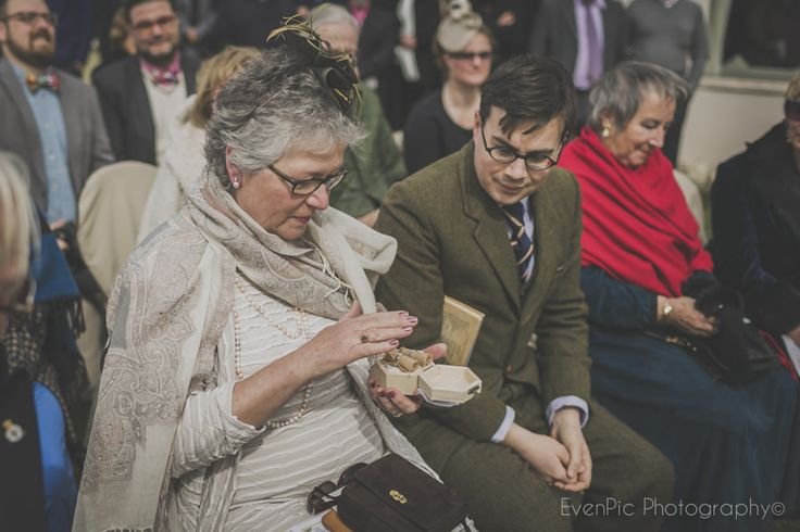 How special is the passing of the rings? Yep, that special. Photo by EvenPic Photography