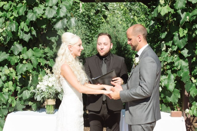 Laura and Andy Game of Thrones Inspired Wedding Ceremony