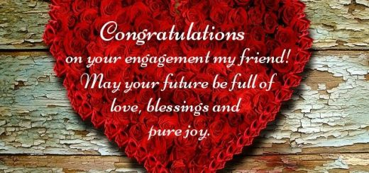 engagement wishes for a friend