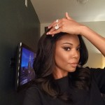 Gabrielle Union's 8.5 Carat Cushion Cut Diamond