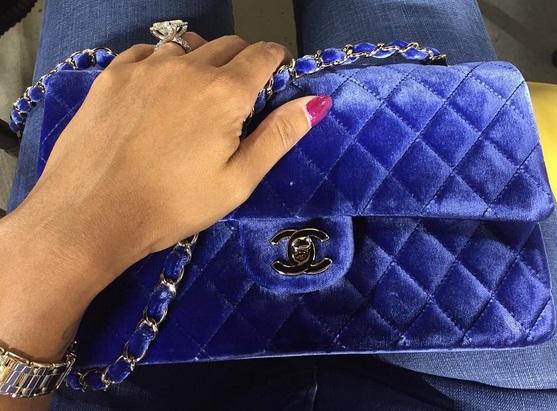 Evelyn Lozada S 14 5 Carat Emerald Cut Diamond Ring