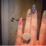 Nicki Minaj's 15 Carat Yellow Diamond Ring