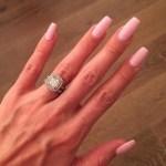 Ashley Tisdale's 2 Carat Cushion Cut Diamond Ring