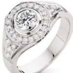 Catriona Rowntree's 7 Carat Round Diamond Ring