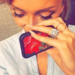 Grace Gealeys Cushion Cut Diamond Ring