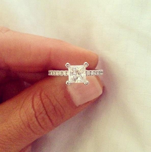 jamie ruth boyds 2 carat princess cut diamond ring