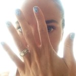 Natalie Coughlin's 2 Carat Round Cut Diamond Ring
