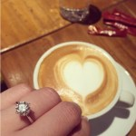 Pauleen Luna's 3 Carat Round Diamond Ring