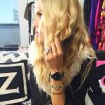 Rachel Zoe's 10 Carat Cushion Cut Diamond Ring