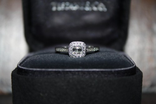tiffany engagement ring box