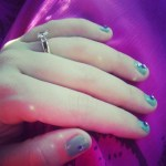 Diana DeGarmo's 1 Carat Yellow Round Diamond Ring