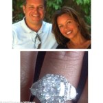Vanessa Williams' Vintage-Inspired Designed Cushion Cut Diamond Ring