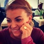 Billi Mucklow's 4 Carat Radiant Cut Diamond Ring