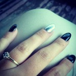 Catelynn Lowell's Round Cut Diamond Ring