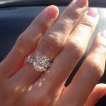 Jenny Robinson's Round Cut Diamond Ring