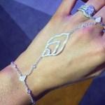 Rosanna Davison's Cushion Cut Diamond Ring