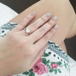 Camille Prats' Round Solitaire Diamond Ring
