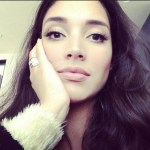 Amelia Vega's Cushion Cut Diamond Ring