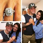 Ashley Jay's Cushion Cut Diamond Ring