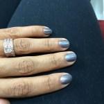 Gwendolyn Osborne's Square Shaped Diamond Ring
