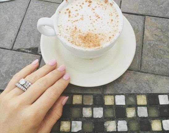 Jessie James Round Cut Diamond Ring