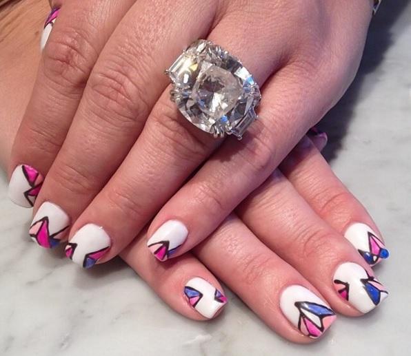 Platinum Viviana Ring