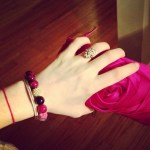 Kimberly Brook's Emerald Cut Diamond Ring