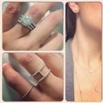Viviana Venters' Round Cut Diamond Ring