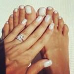 Amber Rose's 10 Carat Oval Cut Diamond Ring