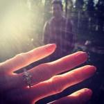 Amy Purdy's 2 Carat Brilliant Cut Diamond Ring