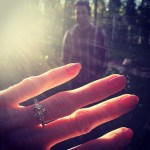 Amy Purdy's 2 Carat Brilliant Cut Diamond Ring