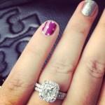 Ann Lueders' 2 Carat Princess Cut Diamond Ring