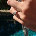 Audrina Patridge's Round Cut Diamond Ring