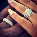 Simi Osomo's Round Cut Diamond Ring