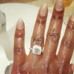 Toolz Oniru's Square Shaped Diamond Ring