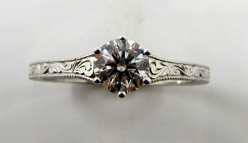 antique-filigree-engagement-ring-top-view