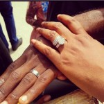 Chita Agwu's Round Cut Diamond Ring