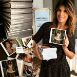 Elisabetta Canalis' Cushion Cut Diamond Ring