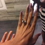 Jasmine Baroudi's Oval Cut Sapphire Ring