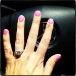 Jen Bunney's Round Cut Diamond Ring