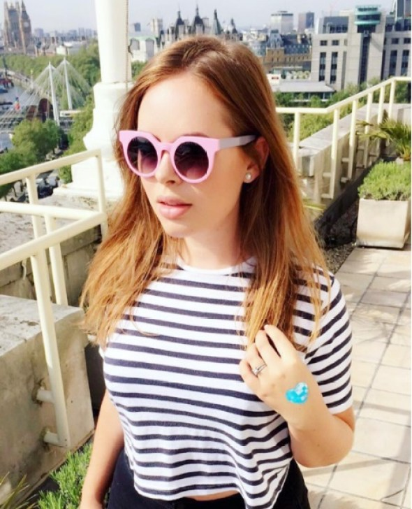 Credit: Tanya Burr/Instagram