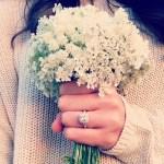 Tori Patton's Square Shaped Diamond Ring