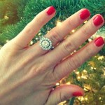 Brooke Brinson's Round Cut Diamond Ring