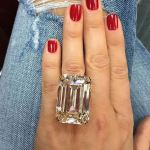Ever wondered what an 80-carat engagement ring looks like?