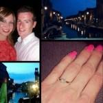 Joanna Roswell's Princess Cut Diamond Ring