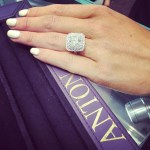Jessie Habermann's Square Shaped Diamond Ring