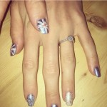 Laura Trott's Round Cut Diamond Ring