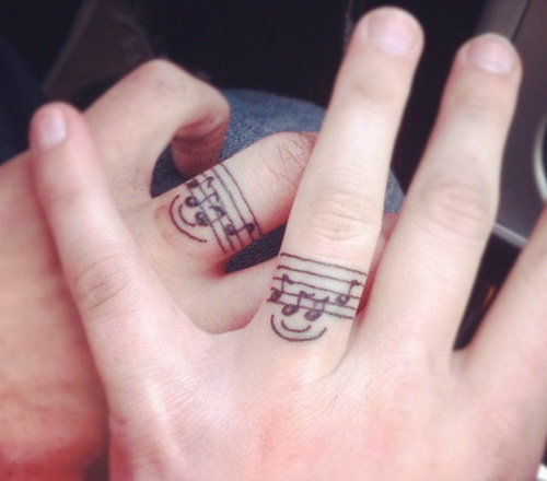 music-tattoo-wedding-rings