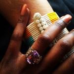 Annabel Onyango's Oval Cut Amethyst Ring