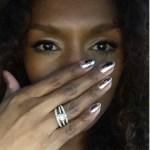 Janet Mock's Oval Cut Diamond Ring